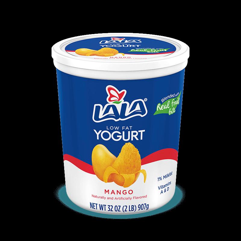 Mango LALA® Yogurt Blended