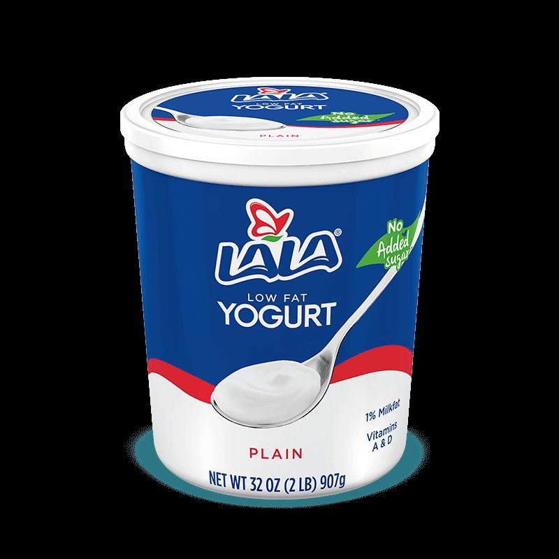 Plain LALA® Yogurt Blended