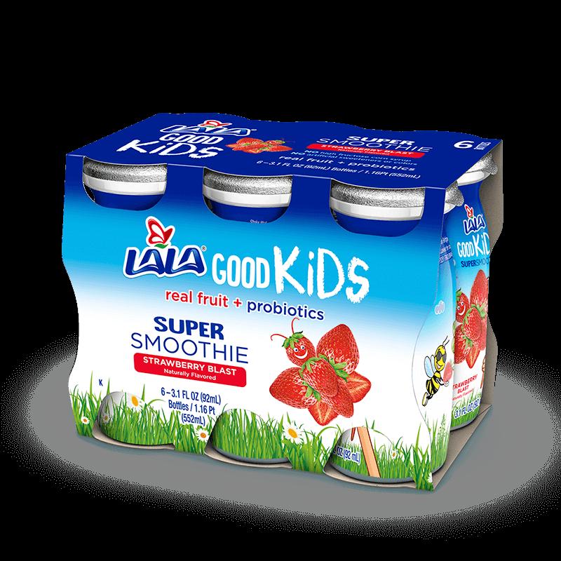 Strawberry Blast LALA® Good Kids® Super Smoothie