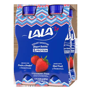 Strawberry LALA® Yogurt Smoothie