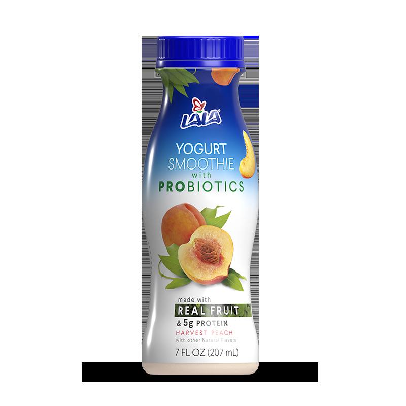 Harvest Peach LALA® Yogurt Smoothie
