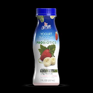 7 oz Strawberry Banana LALA® Yogurt Smoothie  - LALA Foods
