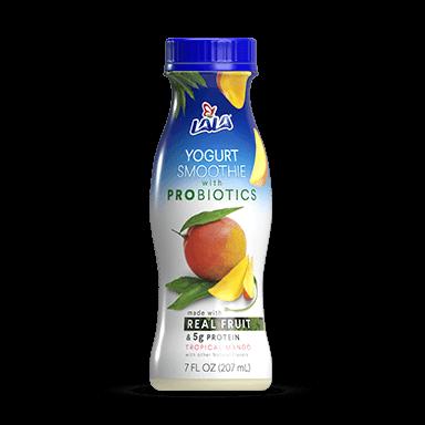 7 oz Tropical Mango LALA® Yogurt Smoothie  - LALA Foods
