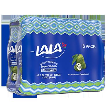 7 oz - 8 pack Guanabana LALA® Yogurt Smoothie  - LALA Foods