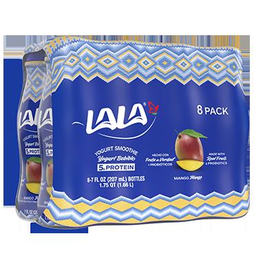 7 oz - 8 Pack Mango LALA® Yogurt Smoothie  - LALA Foods