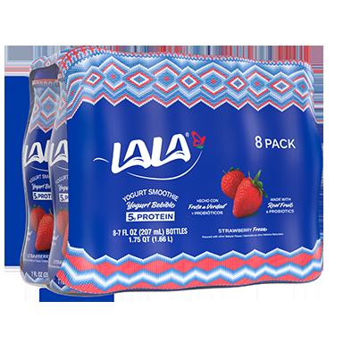 Yogurt Bebible de Fresas LALA®