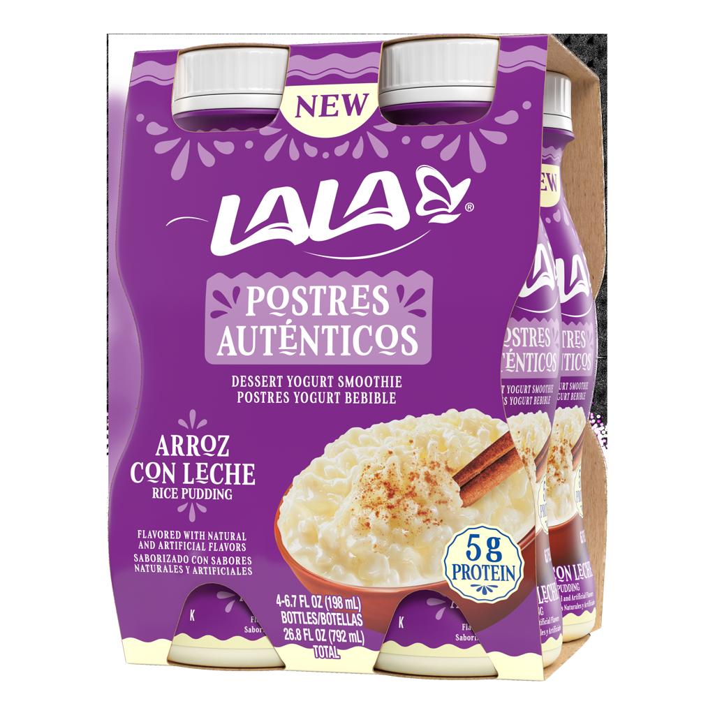 6.7 oz - 4 Pack Arroz con Leche LALA® Dessert Smoothie - LALA Foods
